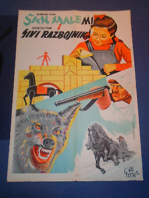 Dream Of Little Mi Chinese & Grey Robber Russian 1957 - Exyu Movie Poster [11]
