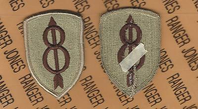 US Army 8th Infantry Division Pathfinders Desert DCU uniform patch m/e