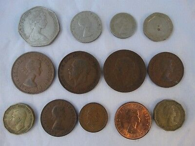 Lot 13 English Coins 1930's to 1983