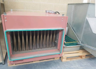Reznor Gas Heater and Ducting