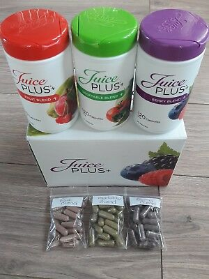 Juice Plus  Capsules veg/Berries/fruit x60 capsules weight loss