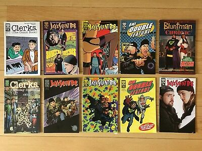 Clerks Jay and Silent Bob Bluntman and Chronic comic bundle Kevin Smith