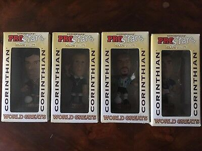 Corinthian PROSTARS 4 World Greats 2000 Collina Figo Veron Zidane - UNOPENED