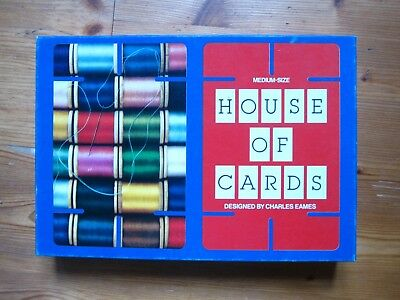 House Of Cards Charles Eames Medium Size