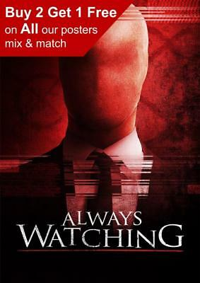 BIG BROTHER IS WATCHING YOU ICONIC GEORGE ORWELLS/'  1984 A3 FILM POSTER REPRINT