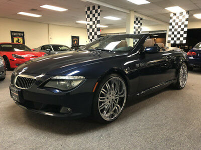 2008 BMW 6-Series Base Convertible 2-Door low mile free shipping warranty 650 2 owner clean luxury convertible finance