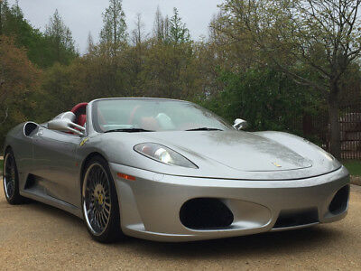 2005 Ferrari 430 Spider Convertible 2-Door spider free shipping warranty clean collector exotic rare cheap financing f430