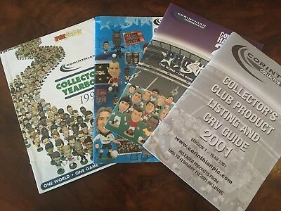 Corinthian Prostars Collector Club Books 1999-2001