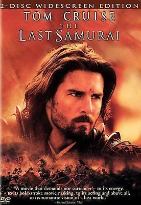 The Last Samurai (DVD, 2004, 2-Disc Set, FULL SCREEN Edition) TOM CRUISE