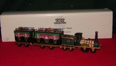 """Dickens' Village """"The Flying Scot Train"""" - #5573-5 - Dept 56 (in box)"""