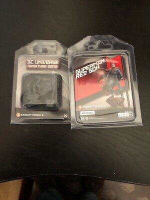 Red Son Superman - Knight Models - DC Universe Miniature Game