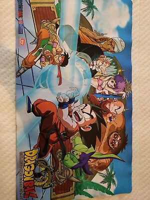 dragon ball z playmat