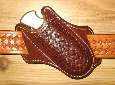 Custom Cross Draw Sheath for Buck #110 / #111 Folding Hunter Knife
