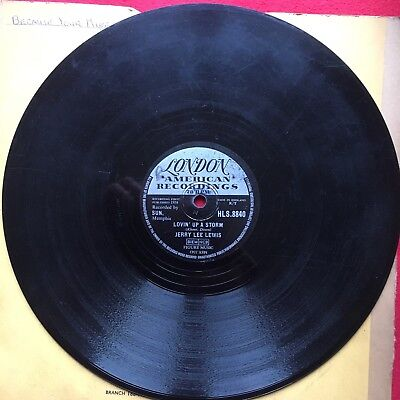 Jerry Lee Lewis 78 Lovin' Up A Storm/ Big Blonde Baby London Records