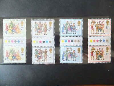 SG 1071-1074. MNH. Traffic Light Gutter pairs. Lovely clean condition.