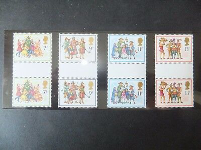 SG 1071-1074. MNH. Gutter pairs. Lovely clean condition.