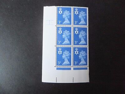 GB Regional. NI Cyl Block. MNH. Cyl 1 Phos. 8.