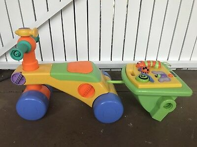 TOMY Toddle 'N' Ride Toddler Convertible Walker, Trike & Activity Centre