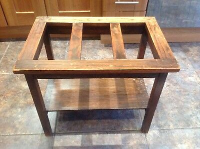 Vintage Wooden Luggage Stand