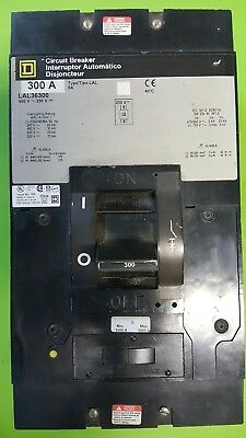 New Surplus Stock Square D Lal36300 3P 300A 600V Breaker. Never Used. No Box.