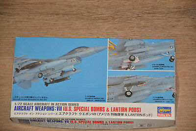 Aircraft Weapons VII U.S. Special Bombs & LANTIRN Pods, Hasegawa 1:72