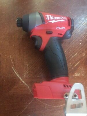 New Milwaukee M18 FUEL Brushless 1/4 Hex Impact Driver Model # 2753-20