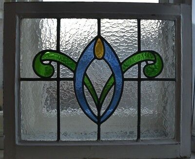 British leaded light stained glass window panel. R705b. WORLDWIDE DELIVERY!!!