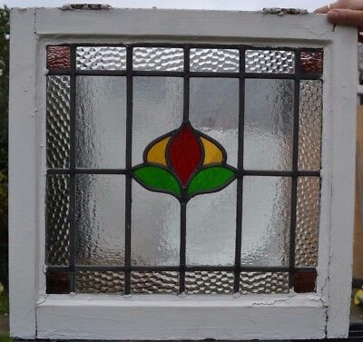 British leaded light stained glass window. R408. WORLDWIDE DELIVERY!!!