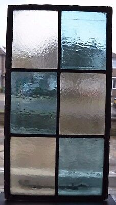British leaded light stained glass window panel. R630. WORLDWIDE DELIVERY!!!