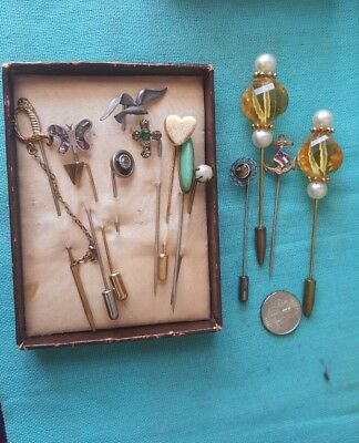 Vintage stick pins lot