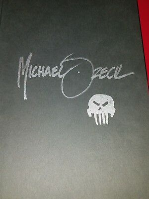 Punisher: Circle Of Blood Hc Signed By Mike Zeck W Logo Sketch (See Pict) W/coa