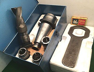 Large Head..boring / Cutter Holder. Boxed Set- British Clarkson ... No Reserve