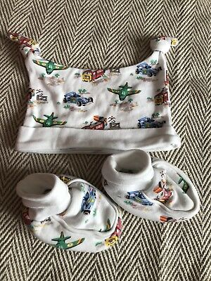Cath Kidston Kids Hat and Bootie Set
