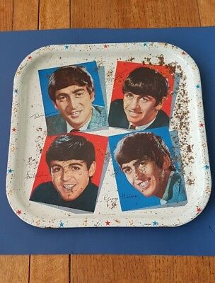 The Beatles Original Tea Tray
