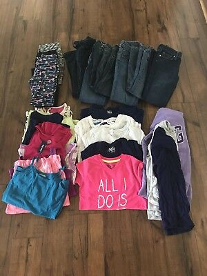 Girls Size 7/8 Clothing Lot Justice, Old Navy, Gap