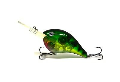 FLASHING LED Flash LIGHT Fishing Lure BAIT Deepwater Crank Bass Pike NEW
