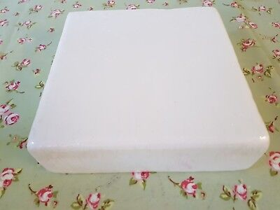 """SQUARE Cake Dummy 11"""" inch Rounded Edge 3"""" depth Brand New Sealed packaging"""
