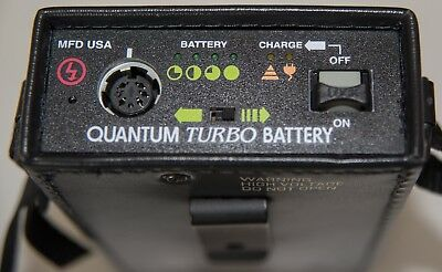 Quantum Turbo Battery With Charger, Power Cord ,instruction Booklet And Box