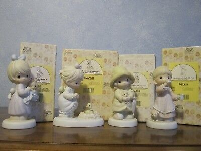 Precious Moments Event Figurines lot of 4