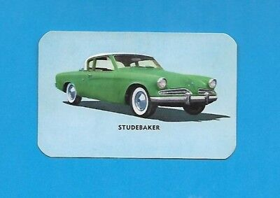 "Studebaker.. 1954 Hood ""Cho-Cho Ice Cream Bar. Non-Sport card #19"