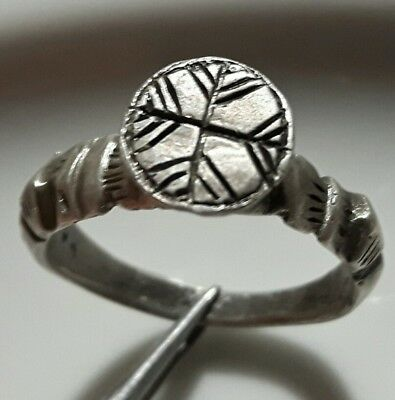 Crusaders ** Cross ** Silver Ring ** Rare