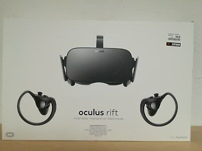 Oculus Rift Bundle, Virtual Reality Headset + Touch Motion-Controller, VR Brille
