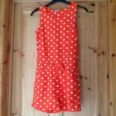 Girls Polka Dot All In One Play Suit By Next Size 13