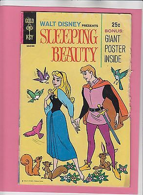 Walt Disney Presents Sleeping Beauty #1 Gold Key Comics