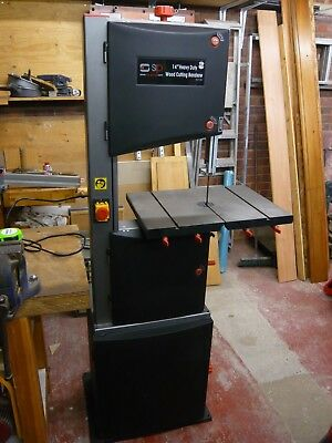 "SIP 14"" Heavy Duty 230 Volt, Wood Cutting Bandsaw with Matching Stand"