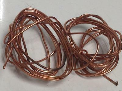 .152 LBS Copper Scrap Wire Bare Bright #1 Metal Material Craft Art Recovery Cast