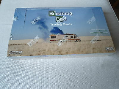 BREAKING BAD WALT Tradingcard Box CRYPTOZOIC 24 Packs a 5 Cards AUTOGRAPHS OVP