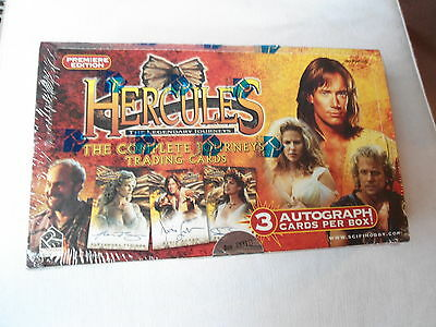 HERCULES (KEVIN SORBO) Tradingcard Box PREMIERE EDITION  lim. 6.000 ^^^^ OVP