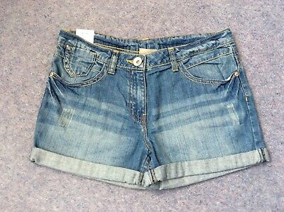 Girls Next Denim Shorts Age 10 Years - BNWT