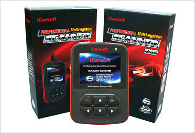 iCarsoft i910 OBD2 Tiefendiagnose BMW Motor ABS Airbag Getriebe Fehlerdiagnose